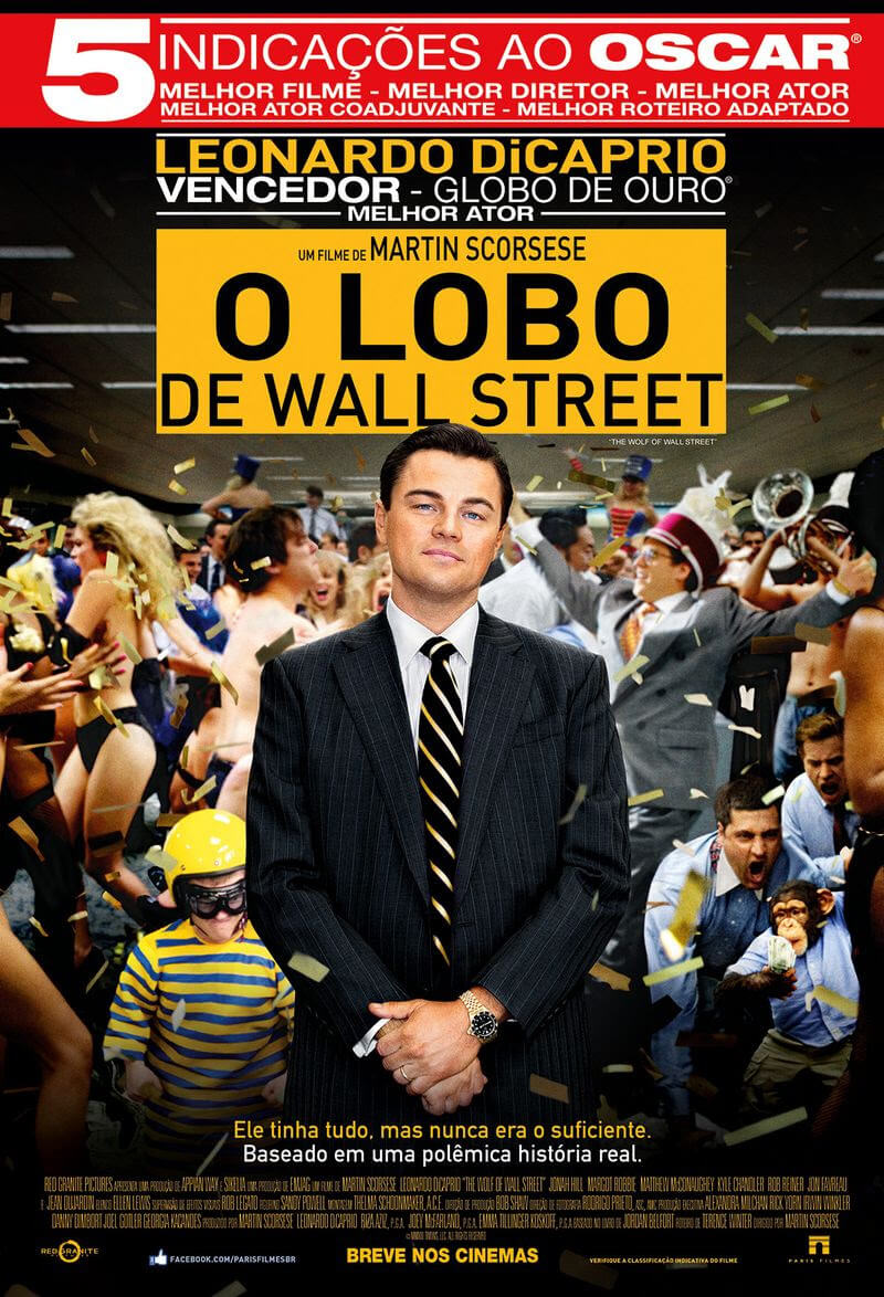 O Lobo de Wall Street BDRip XviD Dual Audio Dublado – Torrent